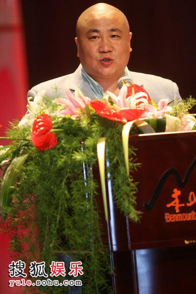 本山传媒副总裁刘流