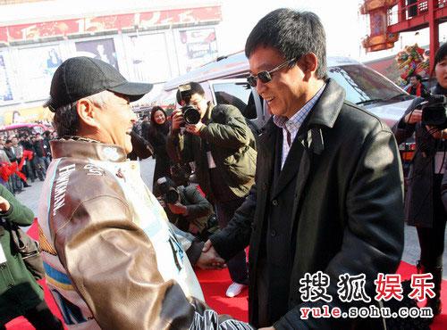 赵本山与朱军